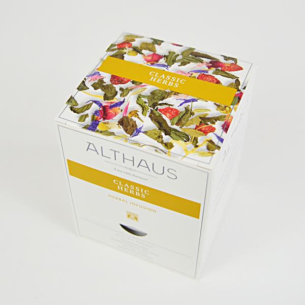 Classic Herbs, ceai Althaus Pyra Packs 1