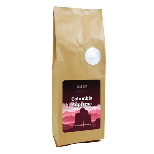 Columbia Supremo, cafea boabe proaspat prajita Boero, 1 kg 0