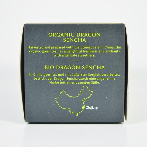 Dragon Sencha, ceai organic Julius Meinl, Leaf Bags 2