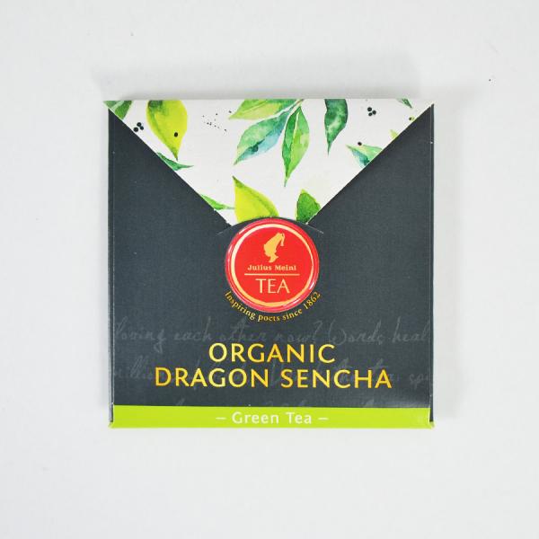 Dragon Sencha, ceai organic Julius Meinl, Leaf Bags 4