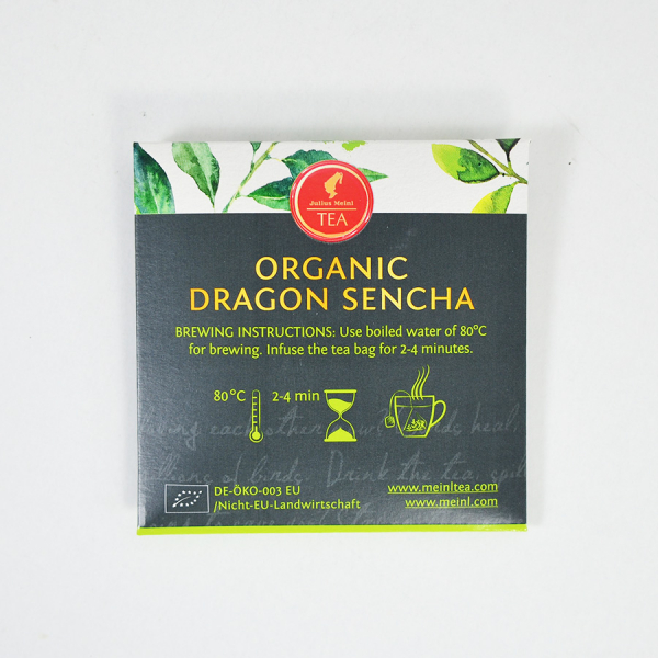 Dragon Sencha, ceai organic Julius Meinl, Leaf Bags 5