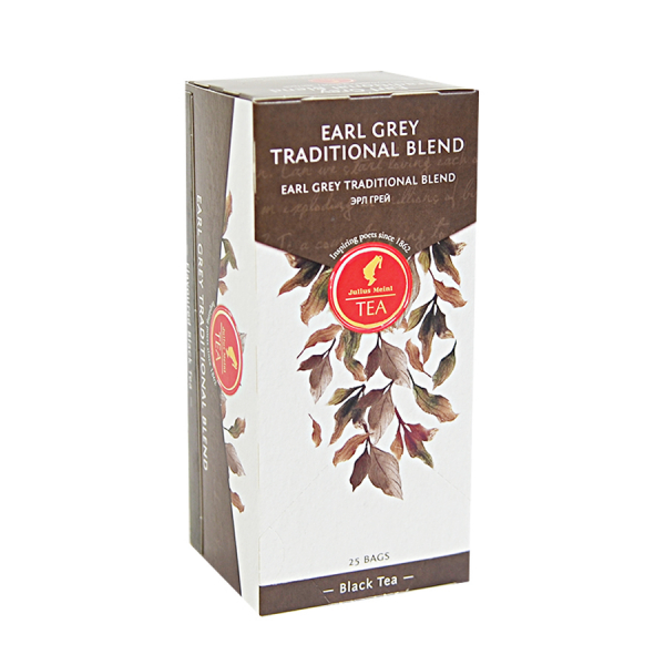 Earl Grey Traditional Blend, ceai Julius Meinl - 25 plicuri 1