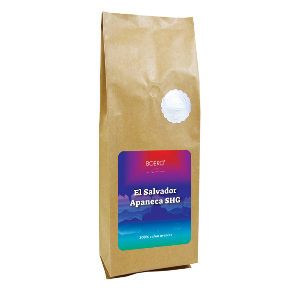 El Salvador Apaneca SHG, cafea boabe proaspat prajita Boero, 1 kg 0
