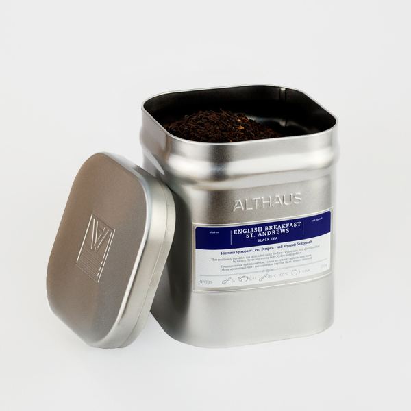 English Breakfast St. Andrews, ceai Althaus Loose Tea, 250 grame 1