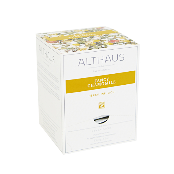 Fancy Chamomile, ceai Althaus Pyra Packs 0