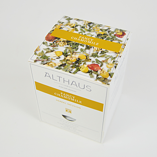 Fancy Chamomile, ceai Althaus Pyra Packs 1