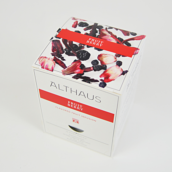 Fruit Berry, ceai Althaus Pyra Packs 2