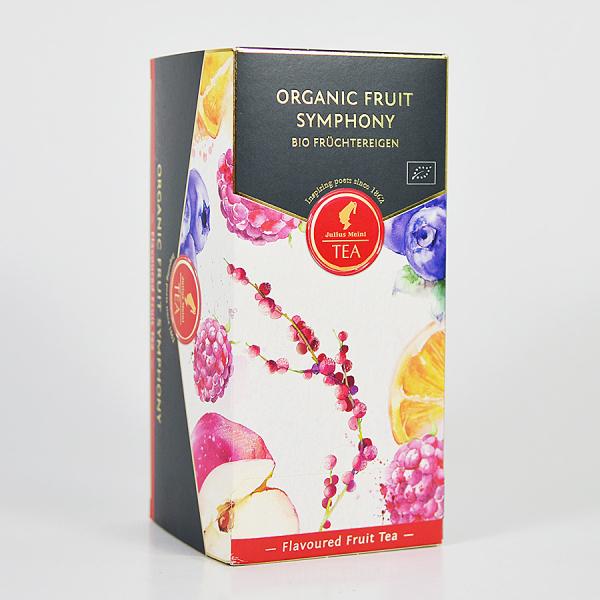 Fruit Symphony, ceai organic Julius Meinl, Leaf Bags 1