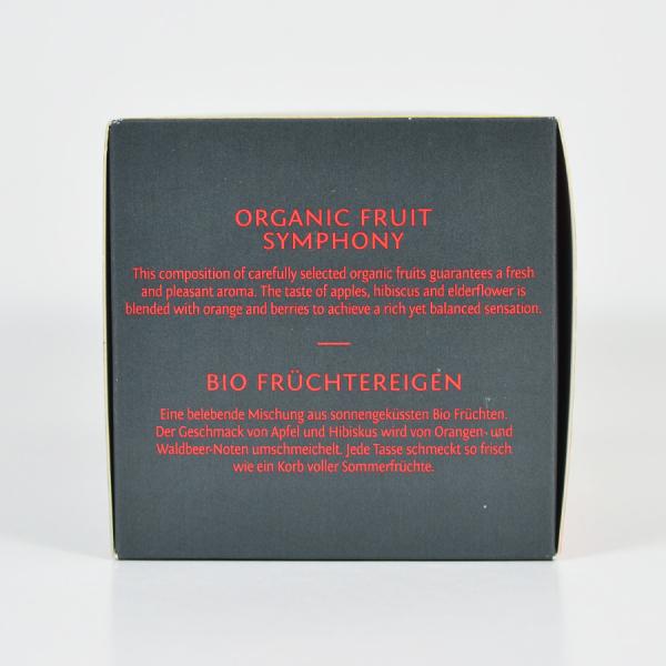 Fruit Symphony, ceai organic Julius Meinl, Leaf Bags 2
