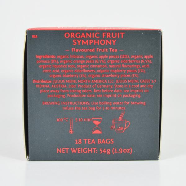 Fruit Symphony, ceai organic Julius Meinl, Leaf Bags 3