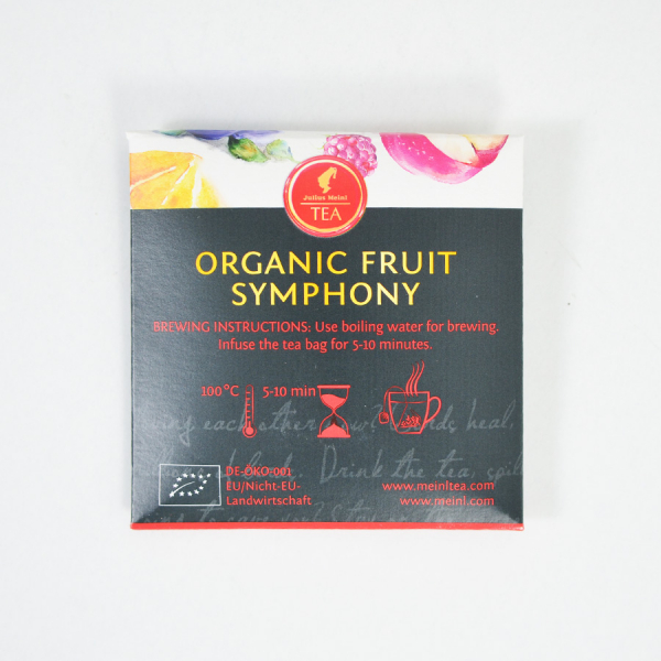 Fruit Symphony, ceai organic Julius Meinl, Leaf Bags 5