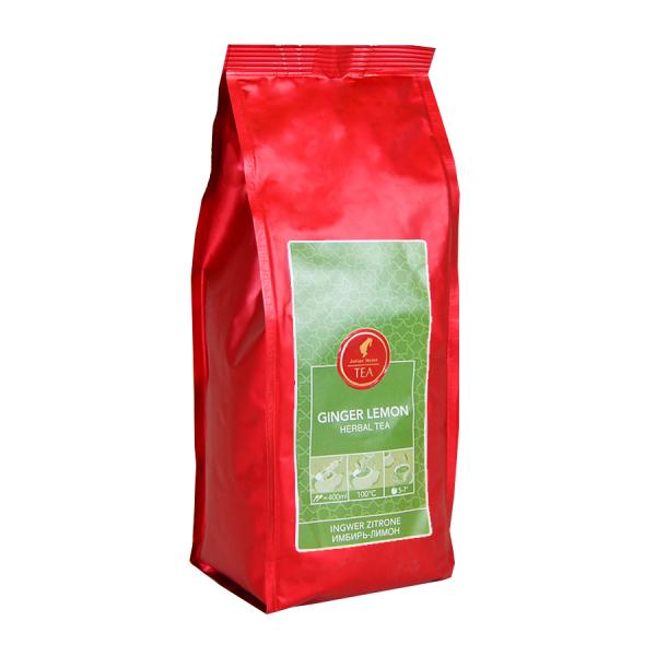 Ginger Lemon, ceai vrac Julius Meinl, 250 grame 0