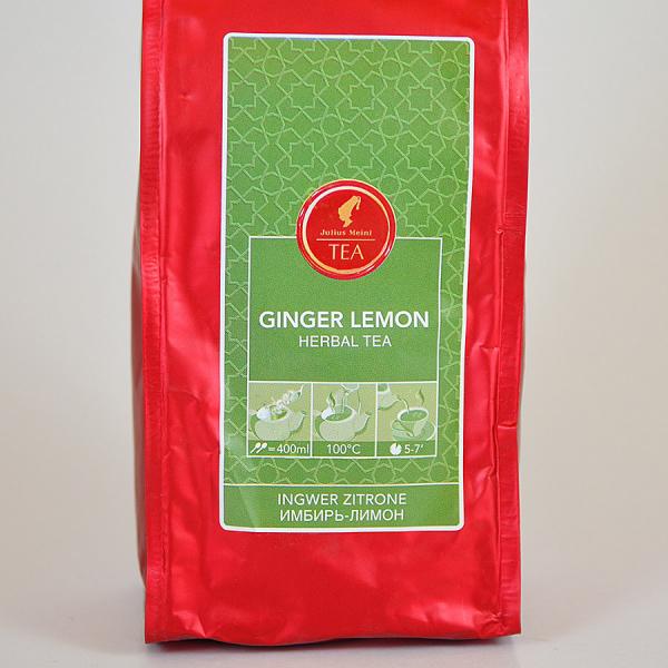 Ginger Lemon, ceai vrac Julius Meinl, 250 grame 1
