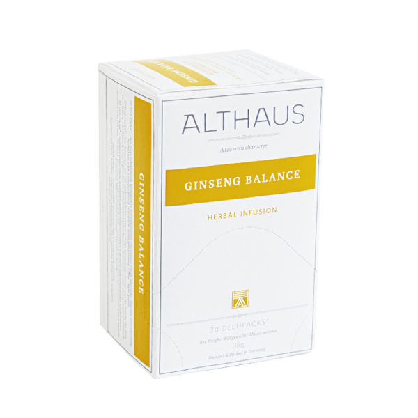 Ginseng Balance, ceai Althaus Deli Packs 0