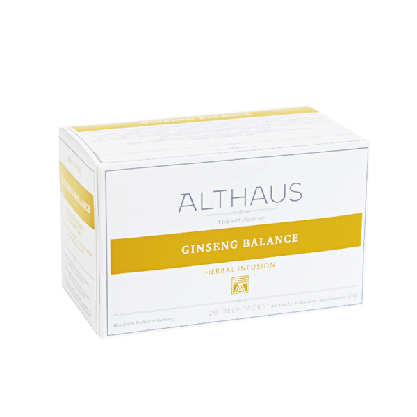 Ginseng Balance, ceai Althaus Deli Packs 1
