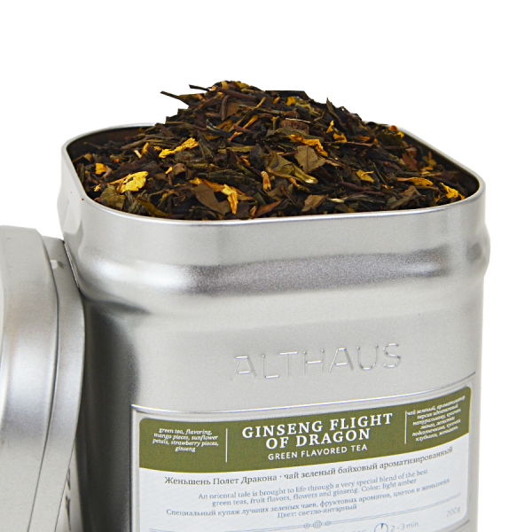 Ginseng Flight of Dragon, ceai Althaus Loose Tea, 200 grame 0