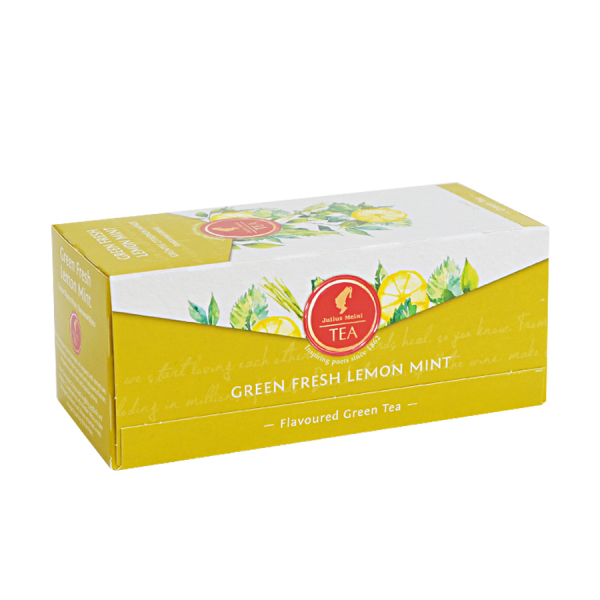 Green Fresh Lemon Mint, ceai Julius Meinl - 25 plicuri 0