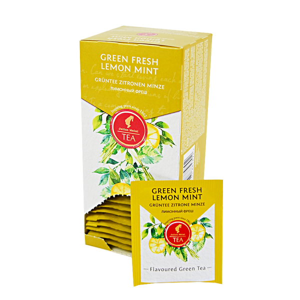 Green Fresh Lemon Mint, ceai Julius Meinl - 25 plicuri 2