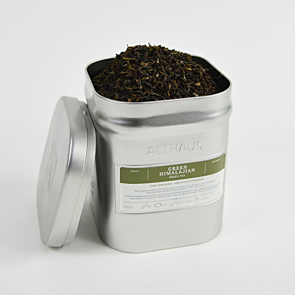 Green Himalajian, ceai Althaus Loose Tea, 250 grame 1
