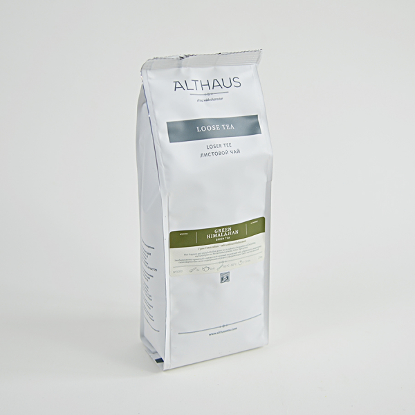 Green Himalajian, ceai Althaus Loose Tea, 250 grame 2