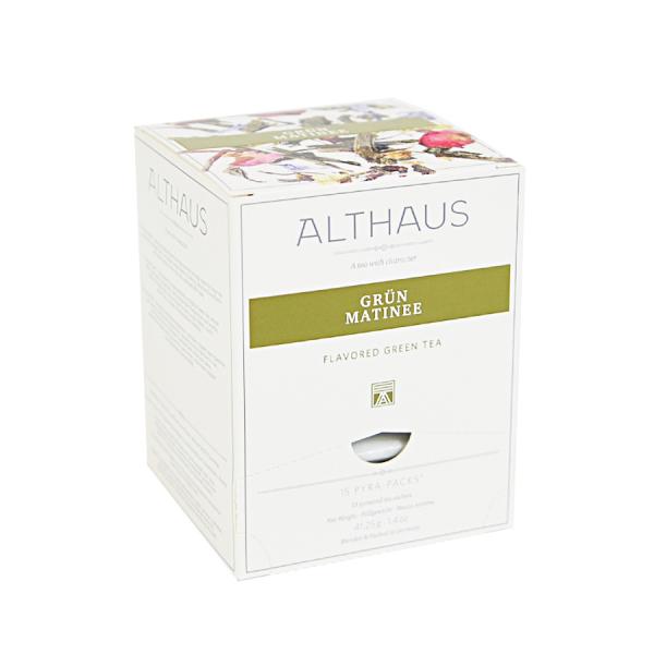 Grun Matinee, ceai Althaus Pyra Packs 0