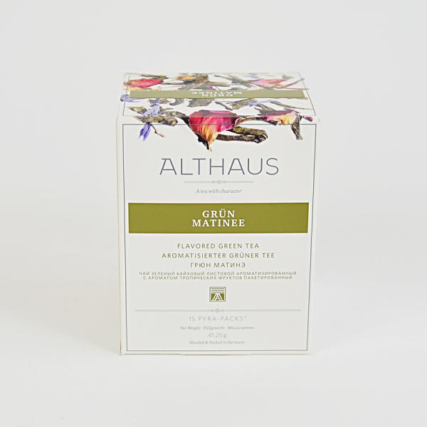 Grun Matinee, ceai Althaus Pyra Packs 1