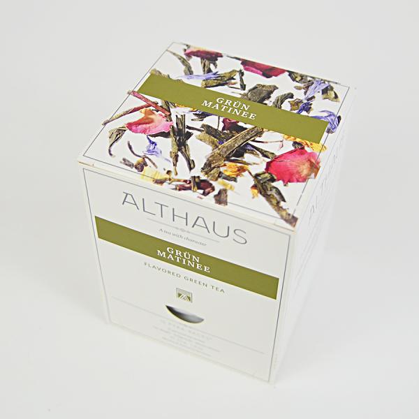 Grun Matinee, ceai Althaus Pyra Packs 2