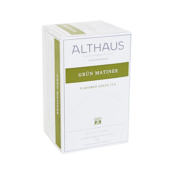 Grun Matinee, ceai Althaus Deli Packs 0