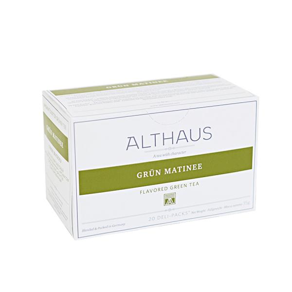 Grun Matinee, ceai Althaus Deli Packs 1