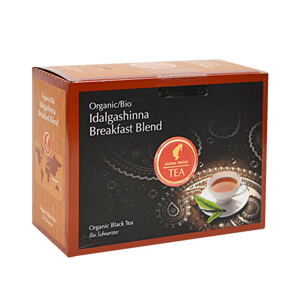 Idalgashinna Breakfast Blend, ceai organic Julius Meinl, Big Bags 0