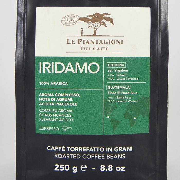 Iridamo, cafea boabe Le piantagioni del caffe, 250gr [1]