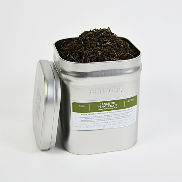 Jasmine Ting Yuan, ceai Althaus Loose Tea, 250 grame 2