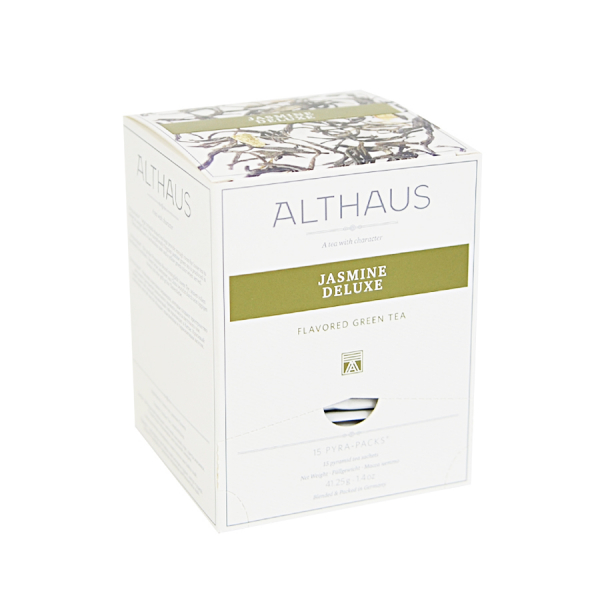 Jasmine Deluxe, ceai Althaus Pyra Packs 0