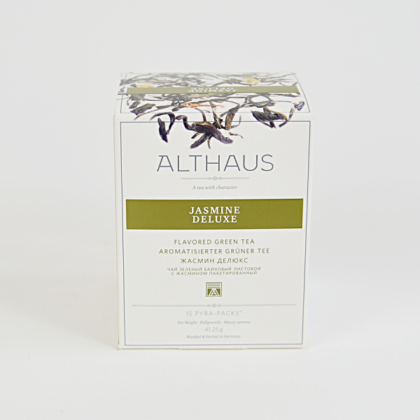 Jasmine Deluxe, ceai Althaus Pyra Packs 1