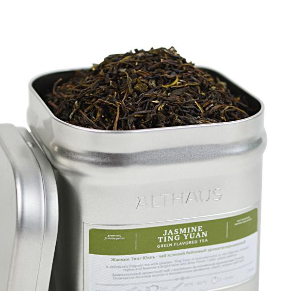 Jasmine Ting Yuan, ceai Althaus Loose Tea, 250 grame 0