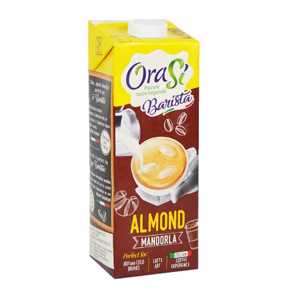Lapte vegetal pentru cafea - Migdale, Orasi 1L [0]