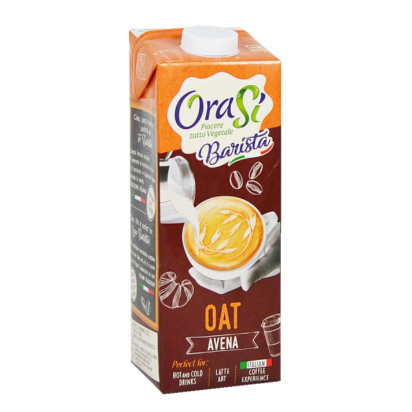 Lapte vegetal pentru cafea - Ovaz, Orasi 1L [0]