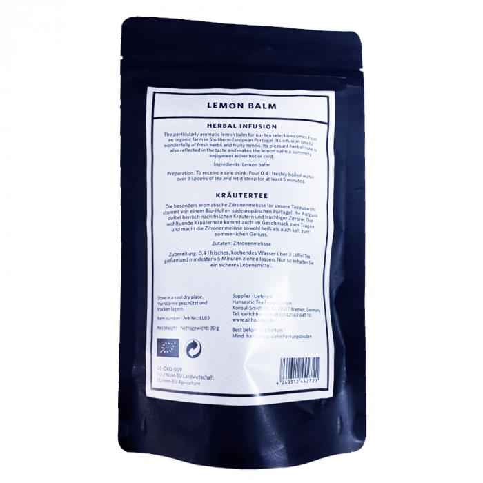 Lemon Balm, ceai Althaus Limited Leaves, Loose Tea, 30g 1