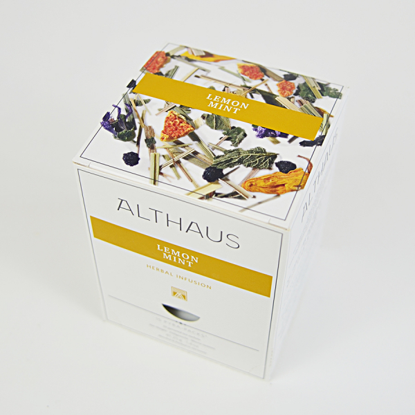 Lemon Mint, ceai Althaus Pyra Packs 2