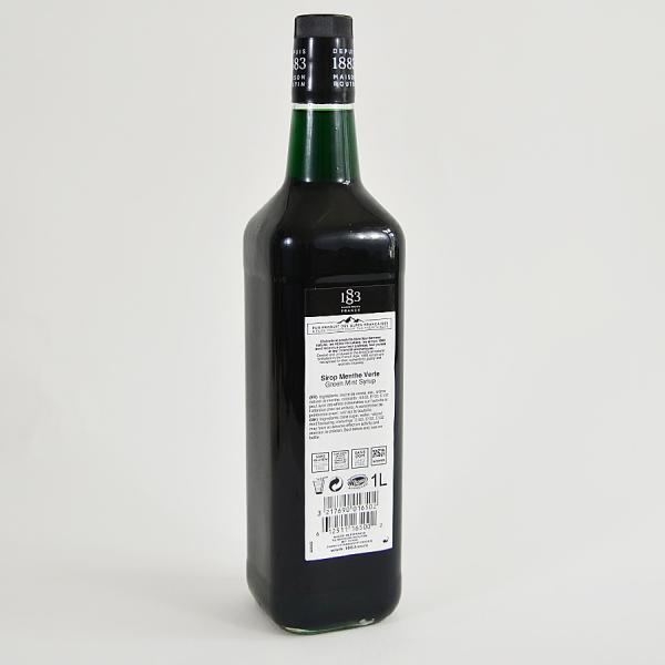 Menta Verde, Sirop 1883 Maison Routin, 1L