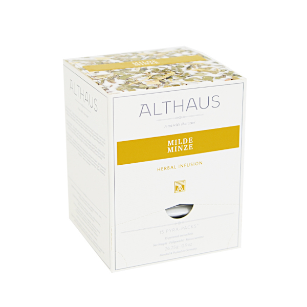 Milde Minze, ceai Althaus Pyra Packs 0