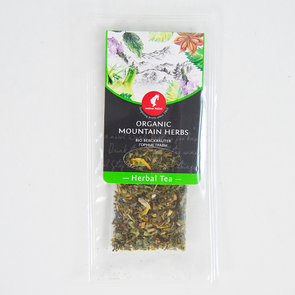 Mountain Herbs, ceai organic Julius Meinl, Big Bags 4