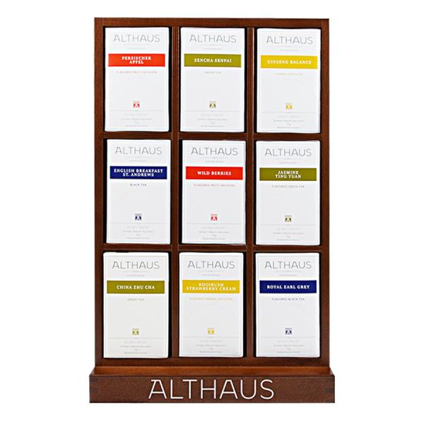 Pachet Display Althaus si 9 cutii ceai Althaus Deli Packs 0