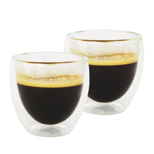 Set 2 pahare espresso cu pereti dubli, Bodum 0