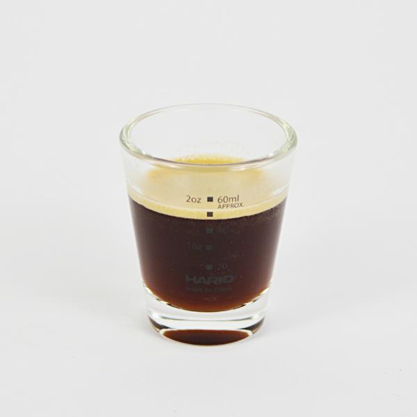 Pahar espresso gradat Hario, 80 ml 2