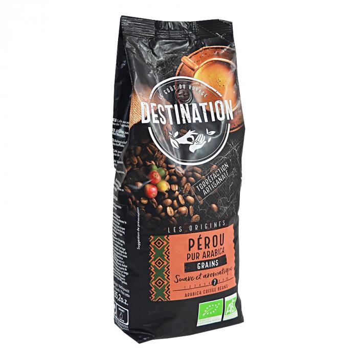 Peru, cafea boabe Bio Destination, 100% arabica, 1 kg 0