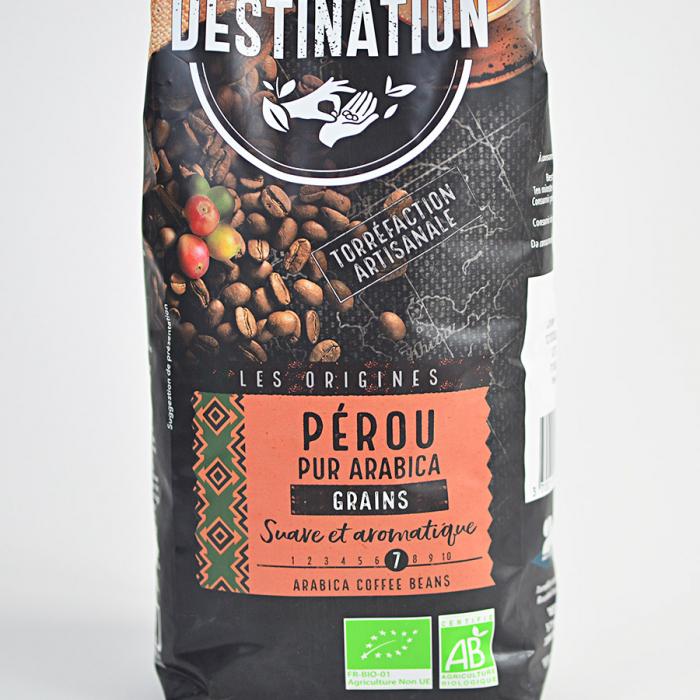 Peru, cafea boabe Bio Destination, 100% arabica, 1 kg 3