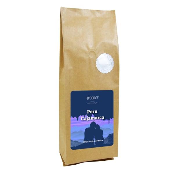 Peru Cajamara 1 kg cafea boabe proaspat prajita 0
