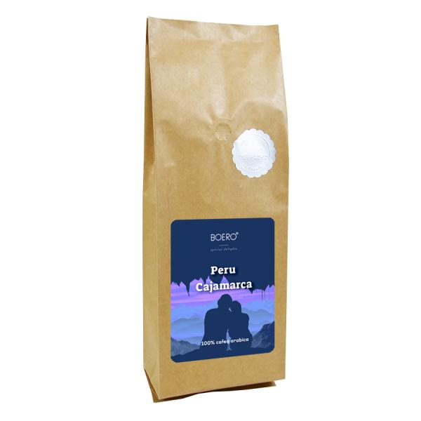 Peru Cajamarca, cafea macinata proaspat prajita Boero, 1 kg 0