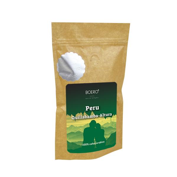 Peru Altura, cafea boabe proaspat prajita Boero, 100 grame 0